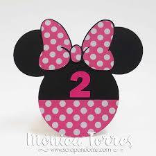 Scrapandome Con Los Recuerdos Valentina Y Minnie Mouse