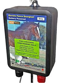 Tractor Factory Shire Electric Fence Energiser 12v 0 6joules 6 Miles Of Fence Water Proof Two Years New For Old Warranty Amazon Co Uk Garden Outdoors