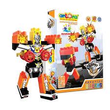 Bộ Đồ Chơi Xếp Hình Robot Siêu Đại Chiến