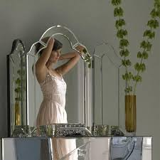 ivana triple dressing table mirror