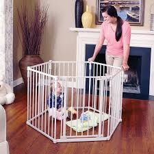 Toddleroo By North States 3 In 1 Metal Superyard 12 Ft Baby Gate Playard Walmart Com Walmart Com
