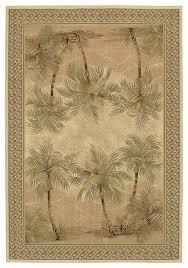 couristan everst palm tree area rug