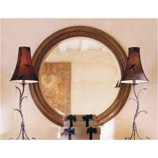 96 112v kincaid furniture round mirror