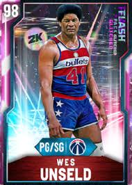 Wes Unseld 98 Pink Diamond NBA 2K20 MyTeam Card - NBA2K.io