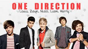 one direction names and pictures names