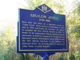 Absalom Jones Historical Marker