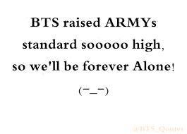 army quotes on haha damn but i feeled so damn good bts