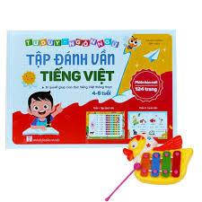 Sách Tập Đánh Vần Tiếng Việt Cho Trẻ Từ 4 Đến 6 Tuổi Tập Đọc Và Tư ...
