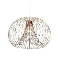 jonas wire copper pendant ceiling light