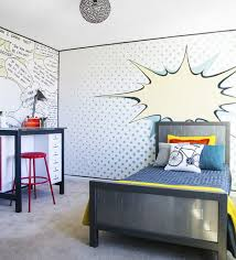 Its Reveal Day And I 39 M Showing My A Pop Art Bedroom Makeover This Room Is Full Of Fun Walls Pop Art Bedroom Kids Bedroom Furniture Kids Bedroom Makeover