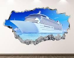 Cruise Ship Decal Etsy