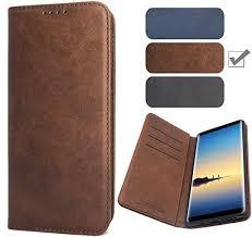 samsung galaxy note 8 wallet case brown