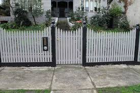 Strong Steel Frame Gates Melbourne Paramount Pickets Picket Fences