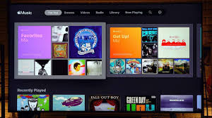 Demo: Using Apple Music on a Samsung TV -