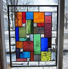 diy faux stained glass window 08 your