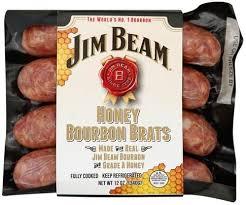 jim beam honey bourbon brats 12 oz