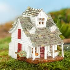 miniature fairy garden farm house