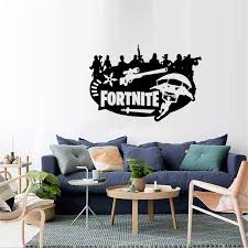 Game Fortnite Xbox Ps4 Vinyl Decal Gaming Bedroom Sticker Wall Art 4coser