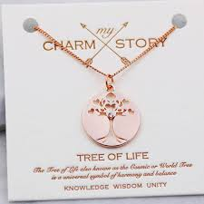 life meaning tree of life pendant