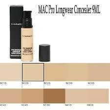 mac pro longwear concealer cache cernes