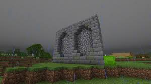 Would This Be A Good Wall Design Any Constructive Critisism Would Be Appreciated Minecraft