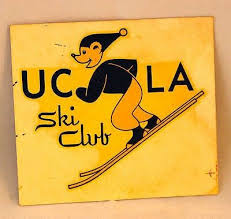 Vintage Ucla Ski Club Transferable Decal 1950 S Very Rare 503270304 Ski Club Ski Club Logo Skiing