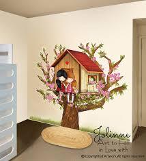 Tree House Kids Room Wall Decal Sticker Jolinne