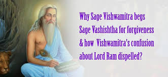 ra ana what triggered enmity between vishwamitra and