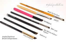 liner brush and 16 brow definer brush