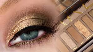 golden brown smokey eye ud