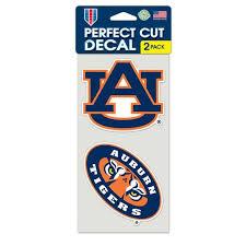 Ncaa Auburn 4 X 4 Die Cut Car Decal Generic Brand Walmart Com Walmart Com