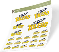 Amazon Com University Of Toledo Ut Rockets Ncaa Sticker Vinyl Decal Laptop Water Bottle Car Scrapbook Sheet Type 3 1 Arts Crafts Sewing
