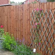 Feather Edge Fence Panel 6ft X 6ft Brown Wooden Supplies
