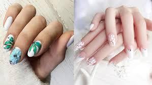 lorene nails spa oval nails designs