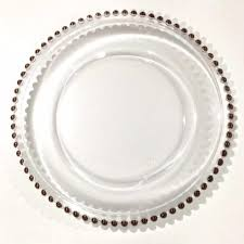 gold beaded edge charger plate archives