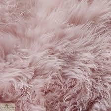 blush pink sheepskin rug the home