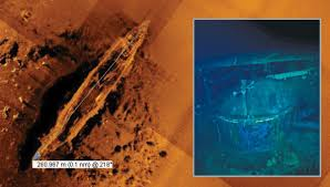 Sunken Akagi found in 18,000 feet of water in 2019.