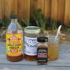 apple cider vinegar and honey for