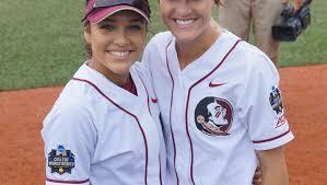 Former area softball stars experience Women's CWS