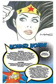 mac face chart wonder woman mac face