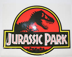 Jurassic Park Decal Etsy