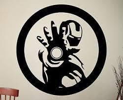 Iron Man Wall Decal Avengers Vinyl Sticker Comics Superhero Art Room Decor 1ezza Ebay