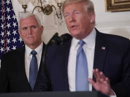 Former U.S. Vice President Says He Doesn't Know What Mike Pence Is Doing in  the White House, All He Does Is Stand Behind Trump