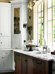 glass front cabinetry better homes