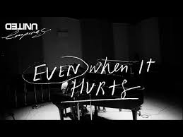 even when it hurts praise song live hillsong united