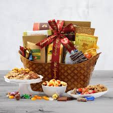 with sympathy clic gift basket by