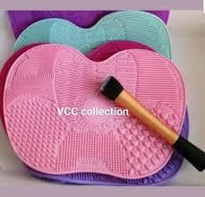 silicone pembersih kuas makeup big size