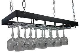 rogar hanging wine glass rack