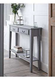 new grey console table new this