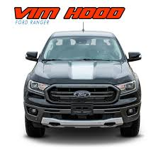 Vim Hood Ford Ranger Hood Stripes Ford Ranger Hood Decals